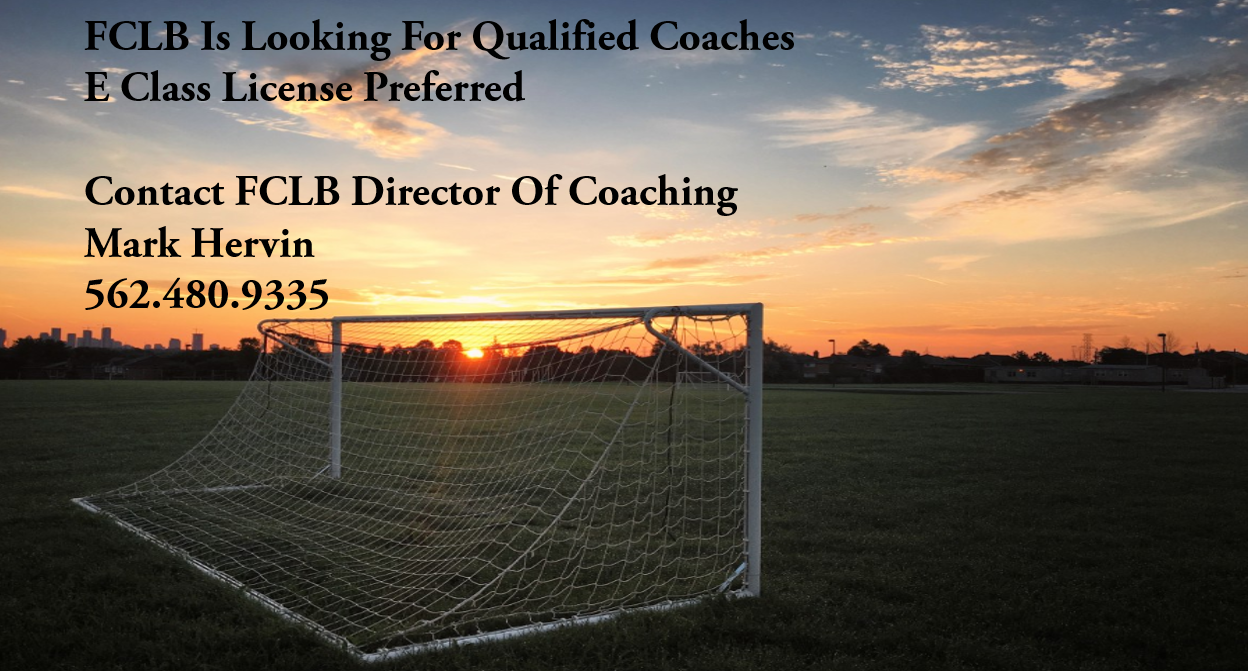 FCLB LOOKING FOR QUALIFIED COACHES